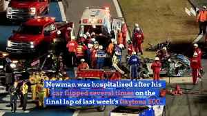 Ryan Newman Has Head Injury But No Internal Injuries [Video]