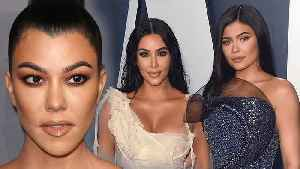 Kylie Jenner & Kim Kardashian Makeup Dissed By Kourtney Kardashian [Video]
