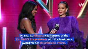 Rihanna Delivers Empowering Call to Action at NAACP Image Awards [Video]