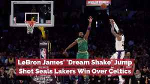 LeBron James' Win Over The Celtics [Video]