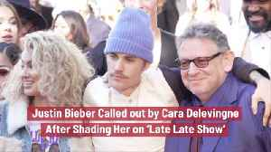 Cara Delevingne Isn't Happy With Justin Bieber [Video]