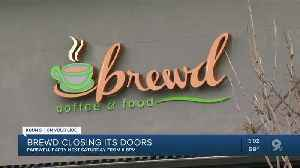 Local shop Brew'd Coffee and Food closes its doors [Video]