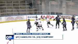 Starpoint, Will South advance to boys' hockey semi-finals [Video]