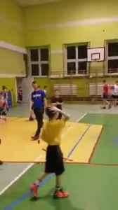 Basketball circus shot of the wall [Video]