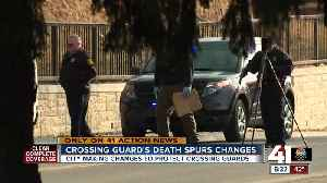 Crossing guard's death spurs changes [Video]