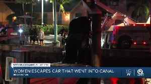 Lake Worth Beach woman dies after car plunges into Intracoastal Waterway in Boynton Beach [Video]
