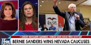 Sarah Sanders warns Trump supporters: Do not take Bernie Sanders for granted [Video]