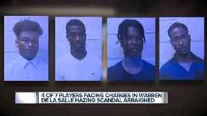 4 Warren De La Salle students arraigned in alleged hazing case [Video]
