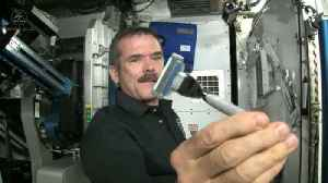 Here's How Astronauts Shave in Space [Video]