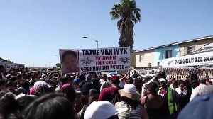 South Africa: Thousands demand justice for 8-year-old Tazne van Wyk [Video]