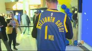 Chase Center, Warriors Celebrate Millionth Guest Since Arena's Opening [Video]