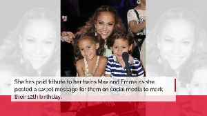 Jennifer Lopez pays tribute to her twins on their birthday [Video]