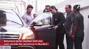 Madhuri Dixit, Hrithik Roshan spotted in Mumbai with family [Video]