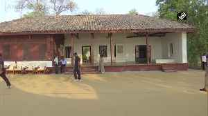Security beefed up at Sabarmati Ashram ahead of Prez Trump visit [Video]