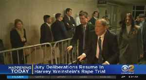 Harvey Weinstein Deliberations Resume [Video]