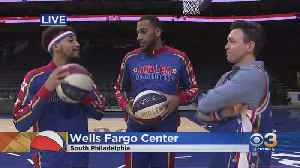 The World Famous Harlem Globetrotters Are Back In Town! [Video]