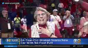 Woman, 84, Wins Car With Hole-In-One [Video]