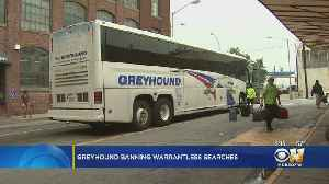 Greyhound Says It Will No Longer Allow Immigration Checks On Buses [Video]
