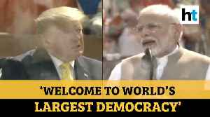 'Namaste Trump' l 'India & US no longer just another partnership': PM Modi [Video]