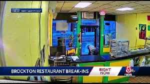 Brazen restaurant break-in caught on camera [Video]