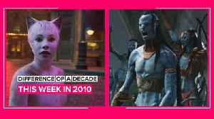 February's last week in the decade challenge: 2010 vs. 2020 [Video]