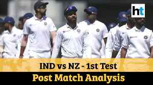 India vs New Zealand | 1st Test: Post Match Analysis [Video]