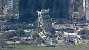'Leaning Tower Of Dallas' Expected To Come Down Monday Morning [Video]