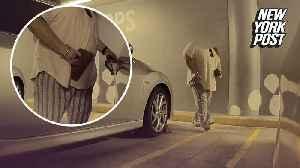 Tesla camera catches woman keying high-tech car [Video]