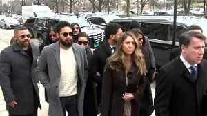 Jussie Smollett Arrives At Court For Arraignment On New Charges [Video]