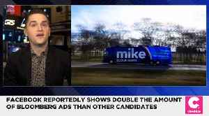 Facebook Shows Double the Amount of Bloomberg Ads, More Than Any Other Candidate [Video]