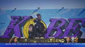 Artists Paint Murals Of Kobe, Gianna Bryant All Over Southern California [Video]