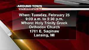 Around Town - Interfaith Day - 2/24/20 [Video]