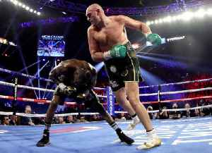 Tyson Fury Defeats Deontay Wilder in TKO Win [Video]