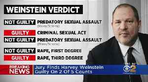 Harvey Weinstein Found Guilty On 2 Of 5 Counts [Video]