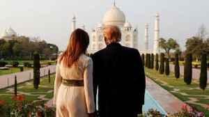 Trumps visit India's 'monument of love' [Video]