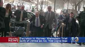 Harvey Weinstein Found Guilty Of 3rd Degree Rape, Criminal Sexual Act For Assault [Video]