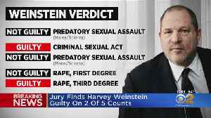 Harvey Weinstein Verdict: Jury Find Him Guilty On 2 Of 5 Counts [Video]