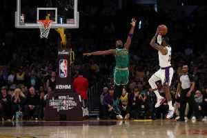 LeBron James' 'Dream Shake' Jump Shot Seals Lakers Win Over Celtics [Video]