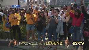 Fans Without Ticket Gather In Downtown To Mourn Together [Video]