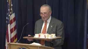Sen. Schumer Admits to Spending $8K Over the Past Decade on His 'Guilty Pleasure': Cheesecake [Video]