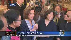 Speaker Pelosi Visits SF's Chinatown To Show Support Amid Coronavirus Fears [Video]