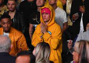 Justin Bieber Makes Surprise Appearance at Sunday Service [Video]