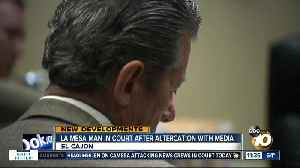 La Mesa business man facing multiple charges appears before judge [Video]