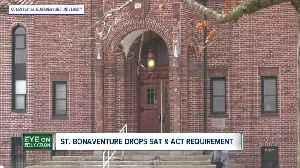 St. Bonaventure will drop SAT & ACT requirements [Video]