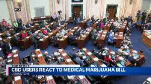 CBD USERS REACT TO MEDICAL MARIJUANA BILL [Video]