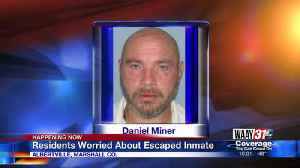 MARSHALL COUNTY SHERIFF'S OFFICE LOOKING FOR CONVICTED MURDERER [Video]