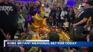 Memorial service for Kobe Bryant and daughter [Video]
