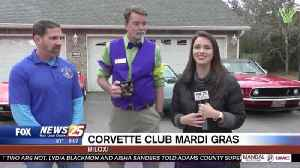 "Mississippi Corvette Club celebrating Mardi Gras with ""mini-parades"" at local senior centers [Video]"