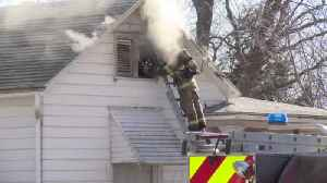 Fire Damages SouthSide Home (2-21-20) [Video]