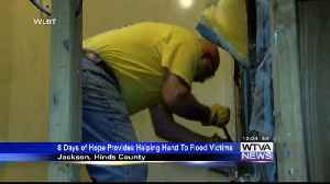 Eight Days of Hope helping with flood cleanup, repairs in Jackson area [Video]